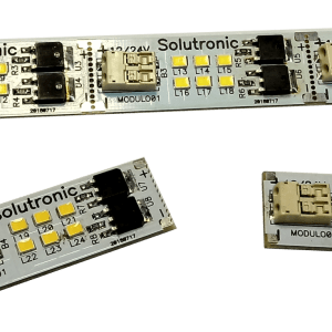 Luminaria a leds fraccionable Solutronic