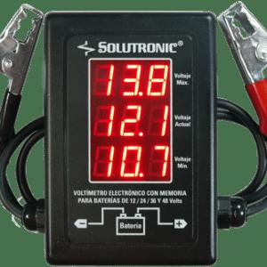 Voltímetro profesional memoria Solutronic