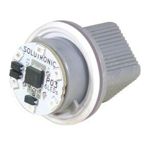 Portalámpara electrónico P03 6 leds Solutronic Faros culata R04 850 930 1800 1820
